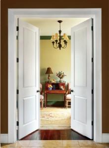 Çift kanatlı kapı örneği