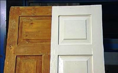 Ahşap kapı pencere boyama teknikleri
