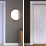 Şık PVC membran iç kapı modeli