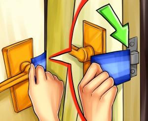 Odalar arası kapı anahtarsız nasıl açılır? Fotoğraf
