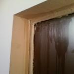 Demir giriş kapının buğulanması