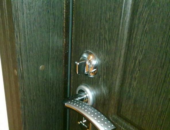 Giriş kapı kolunun tamiri