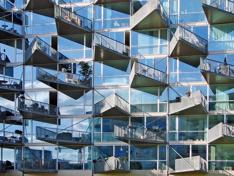 En ilginç balkonları