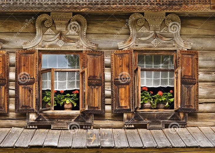 Ahşap Dekoratif pencere