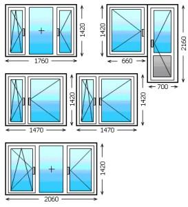 Pencere ölçüleri