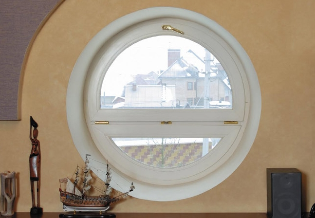 PVC Yuvarlak Pencere