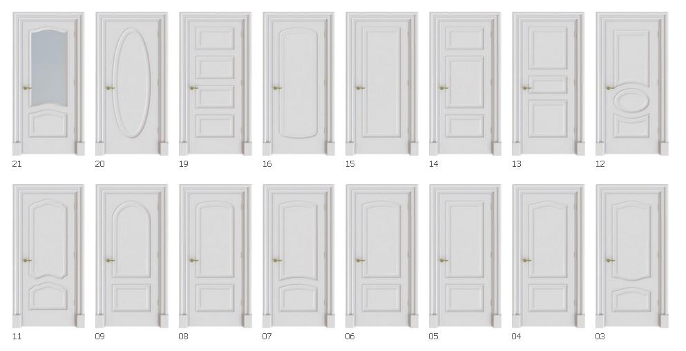 Beyaz Amerikan Kapı modelleri