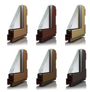 kahverengi PVC profilleri