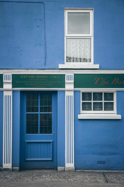 Kilkenny, İrlanda. Çok renkli bir şehir. Bu kadar renkli şehir çok nadir bulunur.