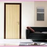Çift renk iç kapı ahşap modeli