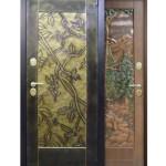 Yeşil 3d çelik kapı modeli