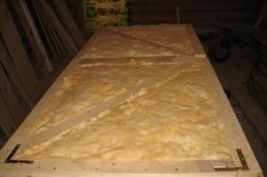 Mineral pamuğun kapı ısı izolasyon malzemesi olarak kullanılması