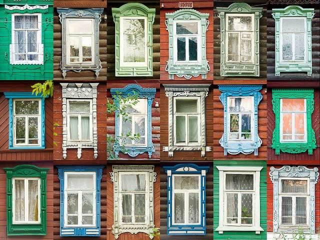 Dekoratif pencere pervazları