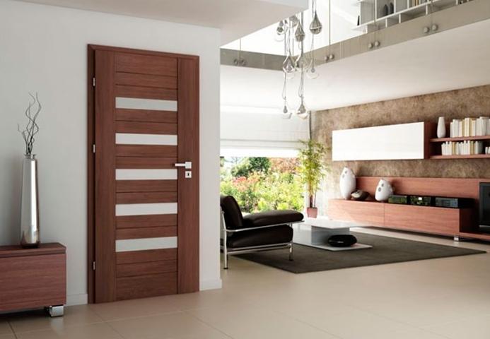 Şık tasarım iç kapı